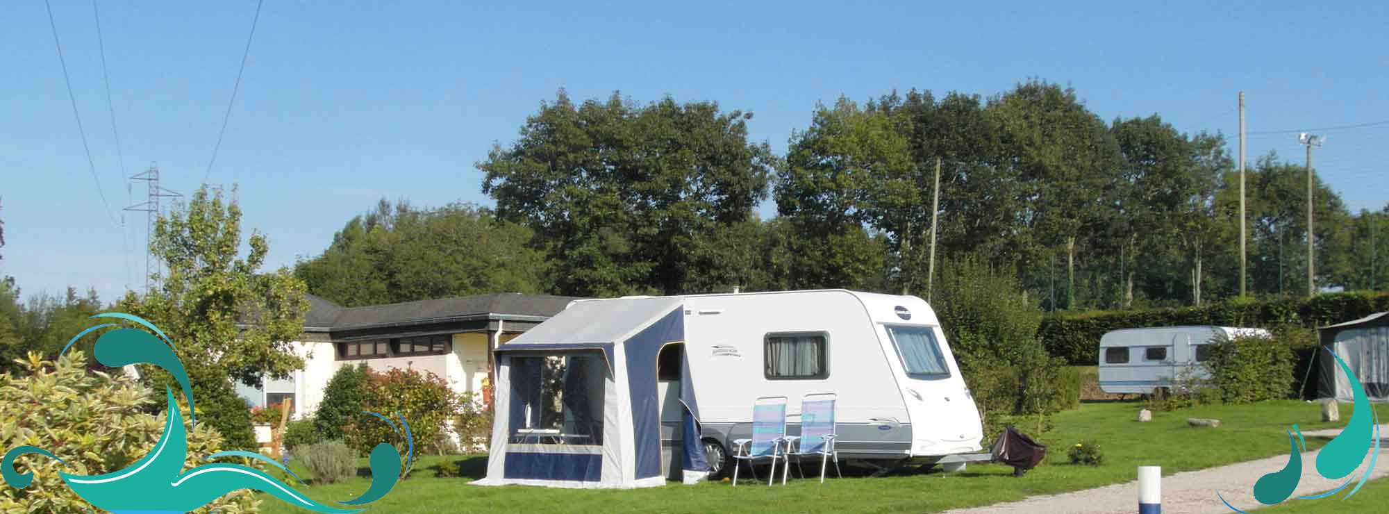 emplacement camping caravane leules les roses